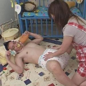 赤ちゃんプレイ大好きなほしの☆つみきが、本当に妊娠しちゃいました