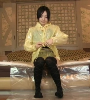 短編ビニゴム衣装でフェチプレイ1_1